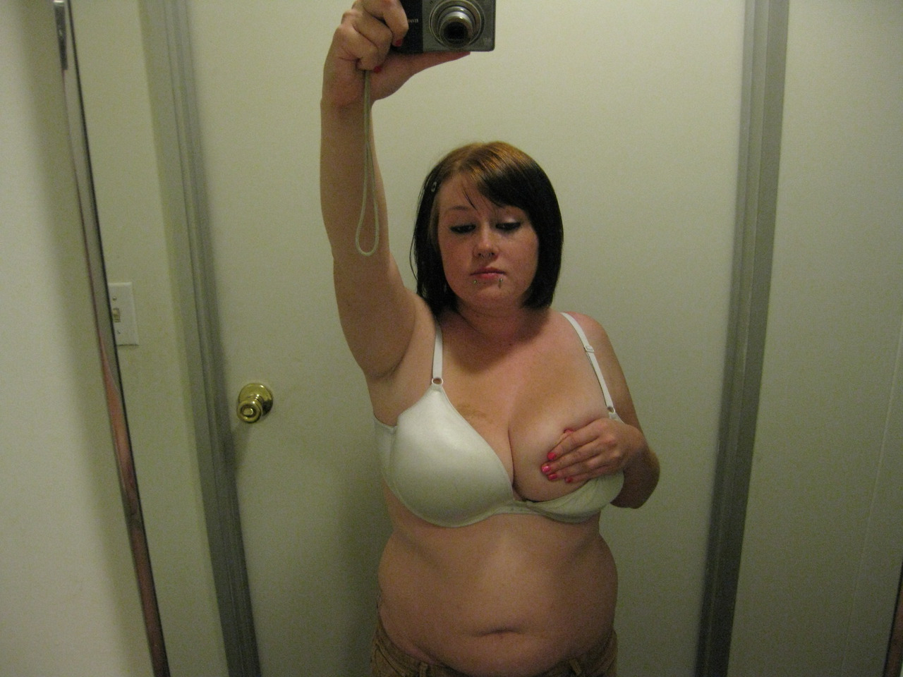 Amateur Chubby Natural Tits