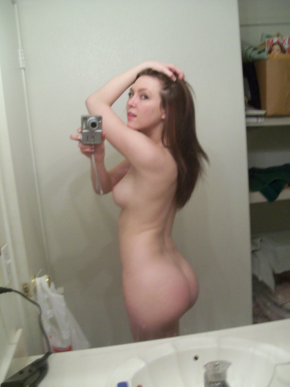 Naked wife shower