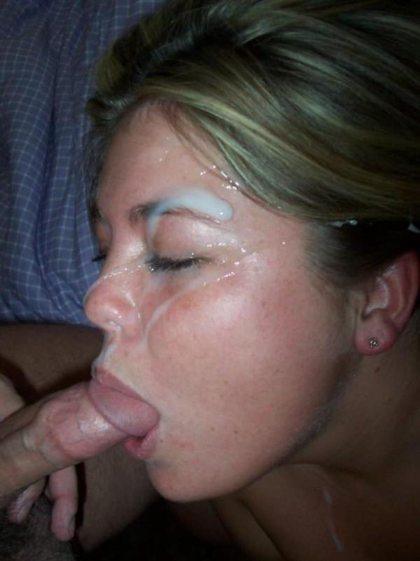 gf Homemade facial amateur