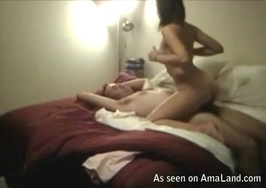 Sexy cowgirl position