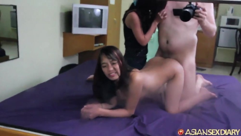 White Tourist Fucks Asian