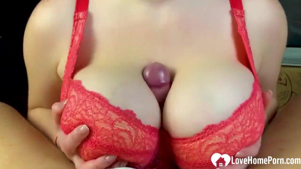 from Stefan titjob with bra on