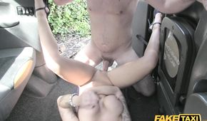 Massage In Fake Taxi Turns Into Hardcore Fuck